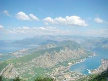 Bahía en Montenegro Foto de archivo libre de regalías