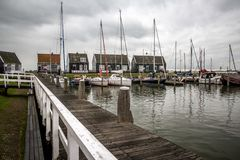 Bahía en octubre Países Bajos de Marken Fotos de archivo