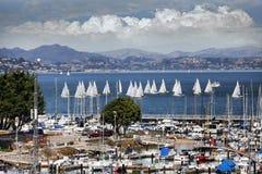 Bahía en San Francisco Foto de archivo libre de regalías