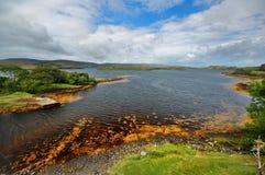 Bahía en Skye, Escocia Fotos de archivo