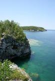 Bahía georgiana, imagen escénica de Ontario Imagen de archivo