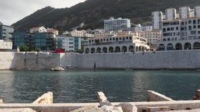 Bahía Gibraltar de Rosia metrajes