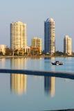 Bahía Gold Coast Australia del fugitivo Fotografía de archivo libre de regalías