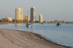 Bahía Gold Coast Australia del fugitivo Foto de archivo
