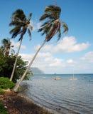 Bahía hawaiana Fotos de archivo