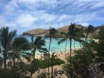 Bahía hawaiana Foto de archivo
