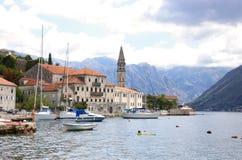 Bahía hermosa de Montenegro Imagenes de archivo