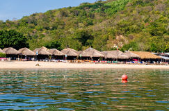 Bahía Huatulco México de Magay Imagen de archivo libre de regalías