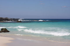 Bahía idílica de Kua Fotografía de archivo libre de regalías