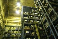 Bahía industrial del almacenaje. Fotografía de archivo libre de regalías