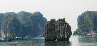 Bahía larga de la ha, Vietnam Imagen de archivo libre de regalías