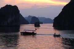 Bahía larga de la ha, Vietnam Foto de archivo