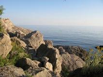 Bahía, Laspi, Crimea, Ucrania imagen de archivo