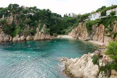 Bahía mediterranian hermosa Fotografía de archivo libre de regalías