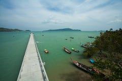 Bahía no vista de Phuket Fotografía de archivo libre de regalías