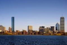 Bahía posterior Boston Imágenes de archivo libres de regalías