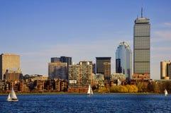 Bahía posterior Boston imagen de archivo