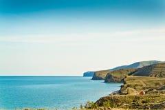 Bahía reservada del mar Imagenes de archivo