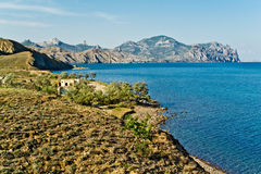 Bahía reservada del mar Imagen de archivo