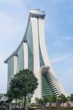 Bahía Singapur del puerto deportivo Imagen de archivo libre de regalías
