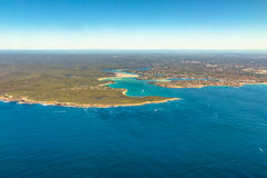 Bahía Sydney de la contienda imagen de archivo