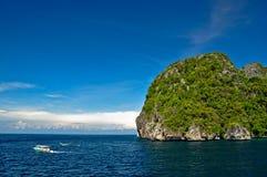 Bahía Tailandia del maya Foto de archivo