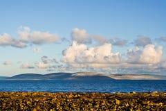 Bahía y Burren de Galway Fotos de archivo