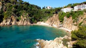 Bahía y playa Fotografía de archivo libre de regalías