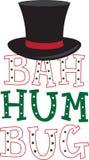 Bah Hum Bug Hat Royalty Free Stock Photos