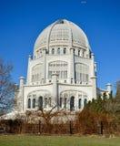Baha ι ναός Στοκ φωτογραφίες με δικαίωμα ελεύθερης χρήσης