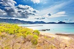 Bahía de Komodo Foto de archivo