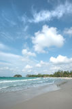 Bahía de Lagoi, Bintan, Indonesia Fotos de archivo libres de regalías