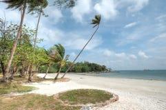 Bahía de Lagoi, Bintan, Indonesia Imagen de archivo libre de regalías