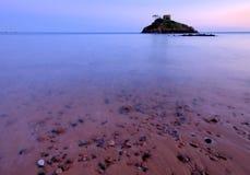 Bahía de Portelet - Jersey C.I Imágenes de archivo libres de regalías