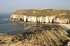 Bahía de Thornwick Foto de archivo