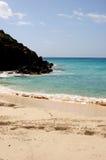 Bahía del gobernador, St. Barth, del Caribe Fotografía de archivo libre de regalías