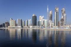 Bahía del negocio de Dubai Imágenes de archivo libres de regalías