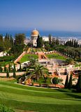 Baha'i gardens Royalty Free Stock Photo