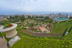 Baha'i Gardens Stock Image
