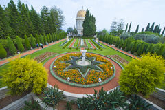 Baha'i Gardens Stock Photography
