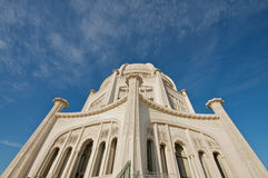 The Baha'i House of Worship in Chicago Stock Image