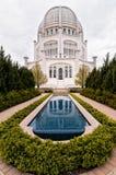 Baha'i hus av dyrkan arkivbilder