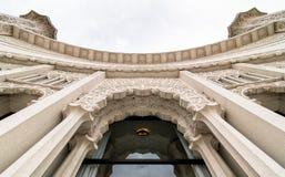 Baha'i hus av dyrkan arkivfoton
