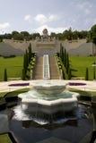 Baha'i jardina Haifa Fotografia de Stock Royalty Free