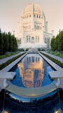 Baha'i Temple. Vertical panorama. Wilmette, Illinois Stock Photo