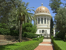 The Baha'i Temple stock image