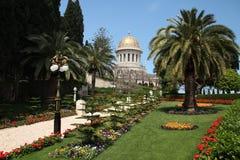 Baha'i trädgård Royaltyfri Bild