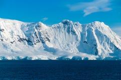 Bahía la Antártida del paraíso Imagen de archivo libre de regalías