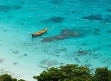 Bahía tropical Fotografía de archivo libre de regalías