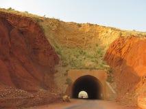 Bahadur khel tunnel royalty-vrije stock afbeelding